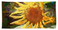 A Sunkissed Life Hand Towel by Tina LeCour