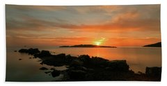 A Sunset In Ibiza Hand Towel