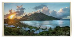 A Sunset On Bay Hand Towel