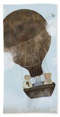 A Teddy Bear Adventure Hand Towel