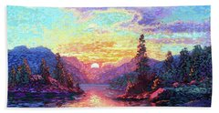 A Time For Peace Hand Towel
