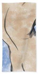 A Torso Bath Towel by Peter J Sucy