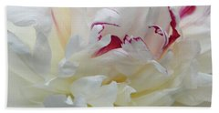 Hand Towel featuring the photograph A Touch Of Color by Sandy Keeton