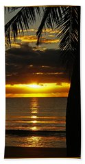 A Touch Of Paradise Hand Towel by Holly Kempe