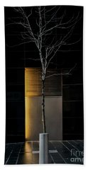 A Tree Grows In The City Bath Towel by James Aiken