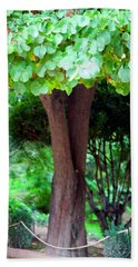 Hand Towel featuring the photograph A Tree Lovelier Than A Poem by Madeline Ellis