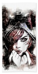 A Tribute To Xayah Hand Towel
