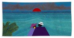 A Turks And Caicos Sunset Bath Towel