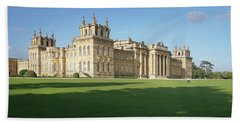 A View Of Blenheim Palace Bath Towel