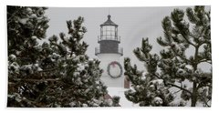 A View Of The Portland Head Light Hand Towel