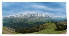 A View To The Saentis, Switzerland Hand Towel