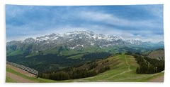 A View To The Saentis, Switzerland Bath Towel