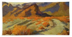 A Walk In La Quinta Cove Hand Towel by Diane McClary