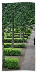 A Walk In The Park In Brittany Bath Towel