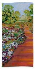 A Walk In The Park Bath Towel