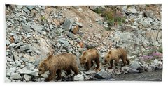 Bath Towel featuring the photograph A Walk On The Wild Side by Cheryl Strahl