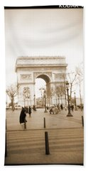 A Walk Through Paris 3 Hand Towel