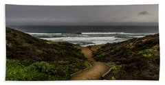 A Walk To The Beach Hand Towel