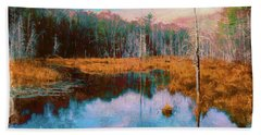 A Wilderness Marsh Hand Towel