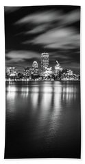 A Windy Night In Boston Hand Towel