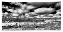 Bath Towel featuring the photograph A Winter Panorama by David Patterson