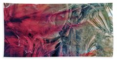 Bath Towel featuring the digital art A World Beyond by Linda Sannuti