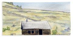 Abandon Ranch House Bath Towel by R Kyllo