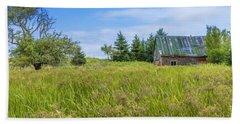Abandoned House In Feltzen South Hand Towel by Ken Morris