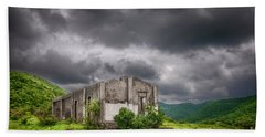 Abandoned Site Hand Towel by Charuhas Images