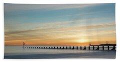 Aberdeen Beach Sunrise Hand Towel