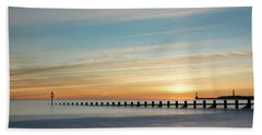 Aberdeen Beach Sunrise Bath Towel