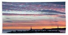 Aberdeen Lighthouses Hand Towel
