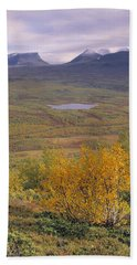 Abisko Nationalpark Bath Towel