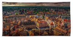 Above Strasbourg Bath Towel