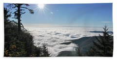 Above The Clouds Hand Towel