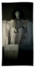 Abraham Lincoln And The Current State Of Affairs Hand Towel