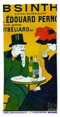 Absinthe Extra-superieure 1899 Hand Towel by Padre Art