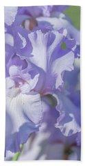 Bath Towel featuring the photograph Absolute Treasure Closeup 2. The Beauty Of Irises by Jenny Rainbow
