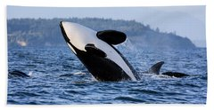 Absolutely Free - Whale Art Hand Towel