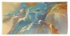 Abstract #04 Hand Towel by Raymond Doward