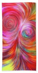 Abstract 072817 Hand Towel