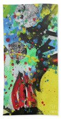 Abstract-1 Bath Towel