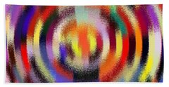 Abstract 120116 Bath Towel by Maciek Froncisz