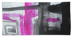 Abstract-15 Bath Towel