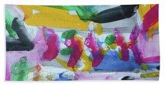 Abstract-17 Bath Towel