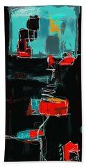 Abstract - 21nov2016 Hand Towel