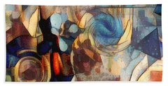 Abstract 32 Hand Towel