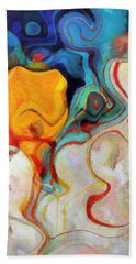 Abstract 4 Hand Towel