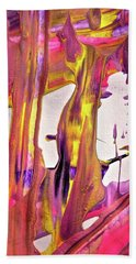 Hand Towel featuring the painting Abstract 6527 by Stephanie Moore