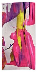 Hand Towel featuring the painting Abstract 6528 by Stephanie Moore